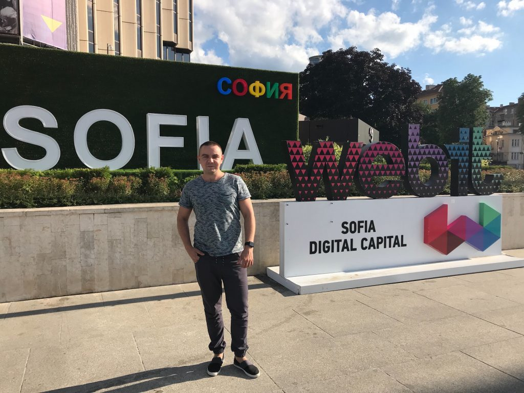 Virgil Security Team Spotlight - Dmytro at Webit in Sofia